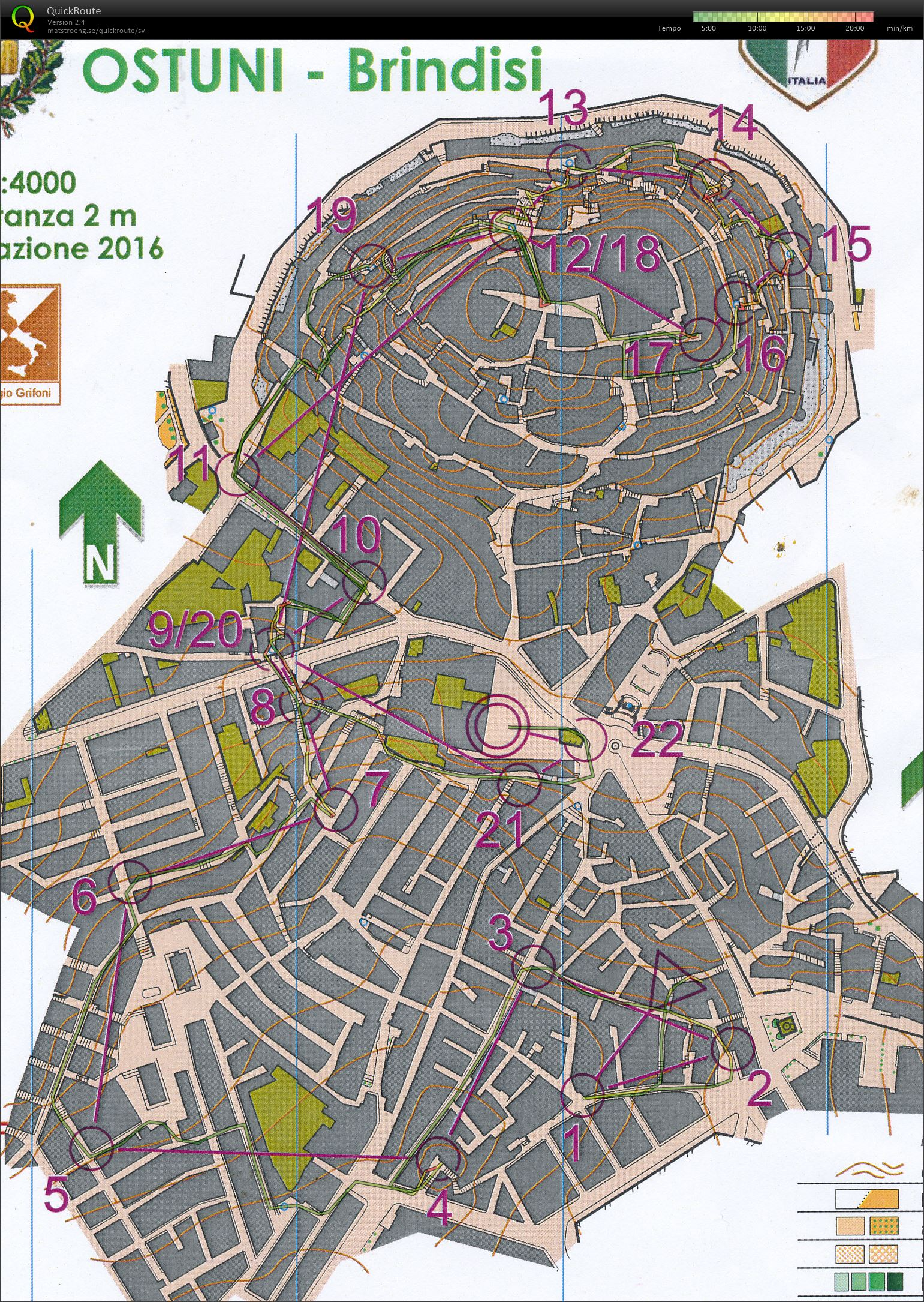 Southern Italy orienteering festival dag 5 (03/06/2017)