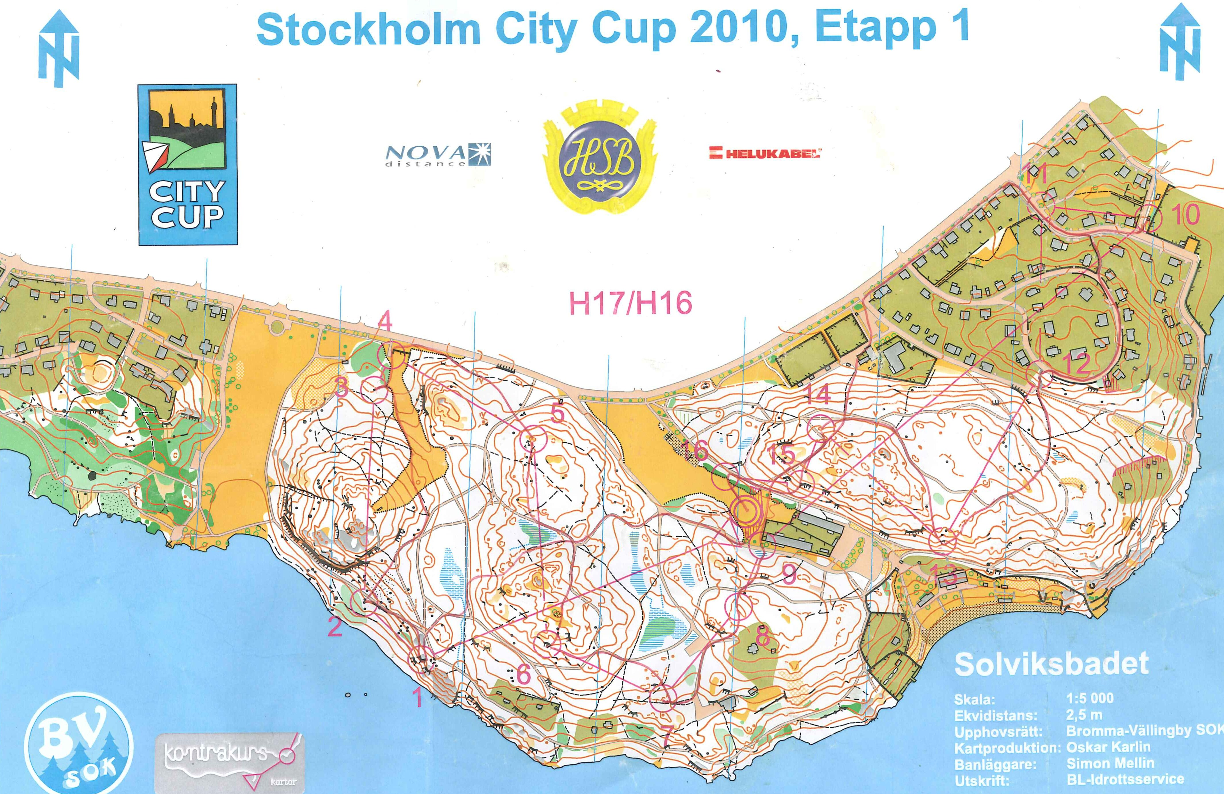 Stockholm City Cup (19/05/2010)